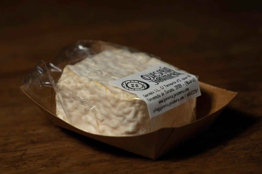 tiza queso de pasta blanda oveja cuajo vegetal rulo