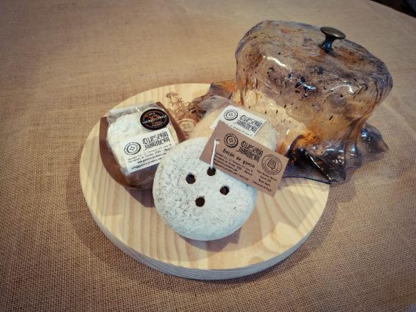 queso artesano quesera para regalo original