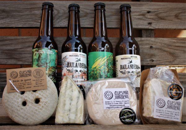 Maridados queso y cerveza